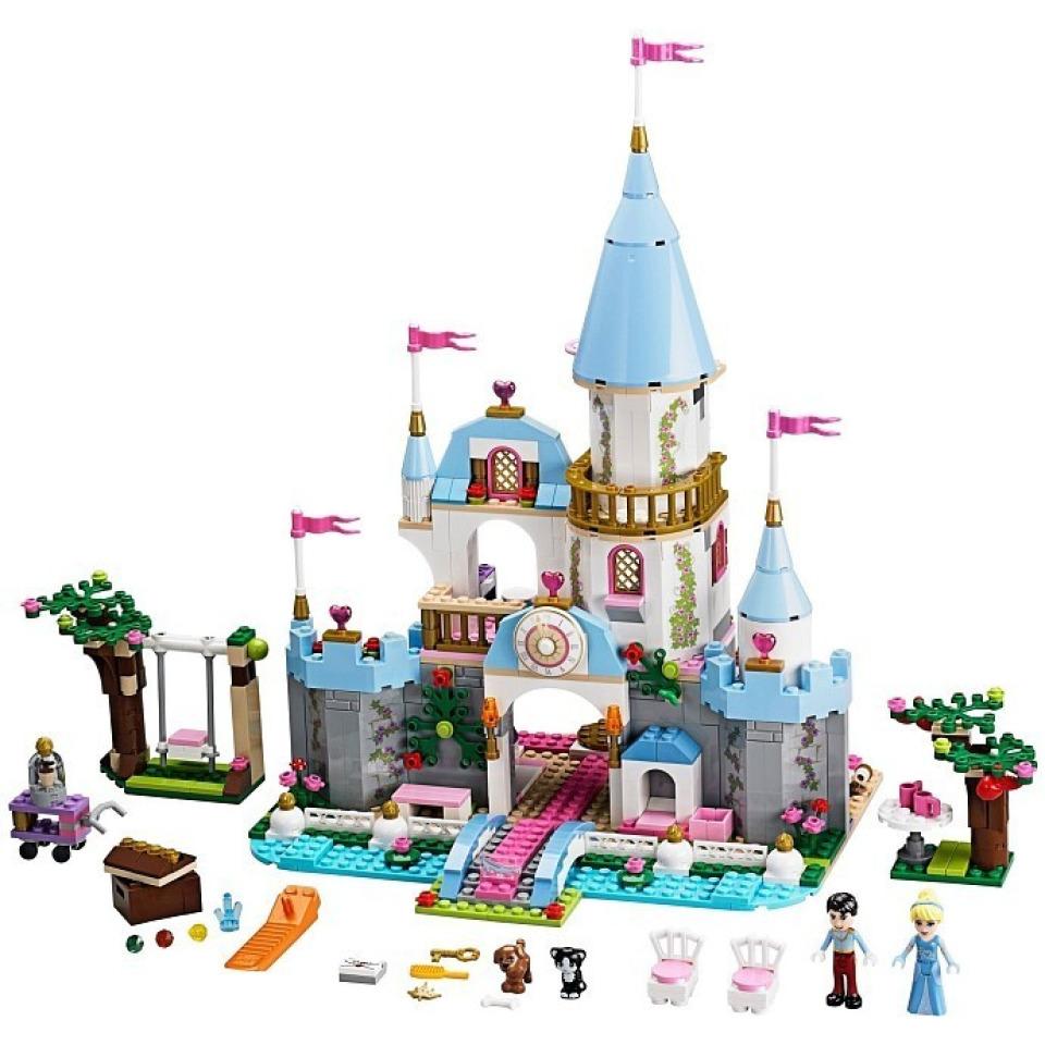 Obrázek 1 produktu LEGO Disney 41055 Popelčin romantický zámek