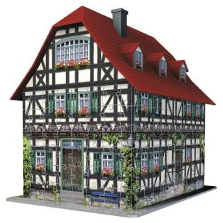 Obrázek 2 produktu 3D Puzzle Středověký dům 216d. Ravensburger