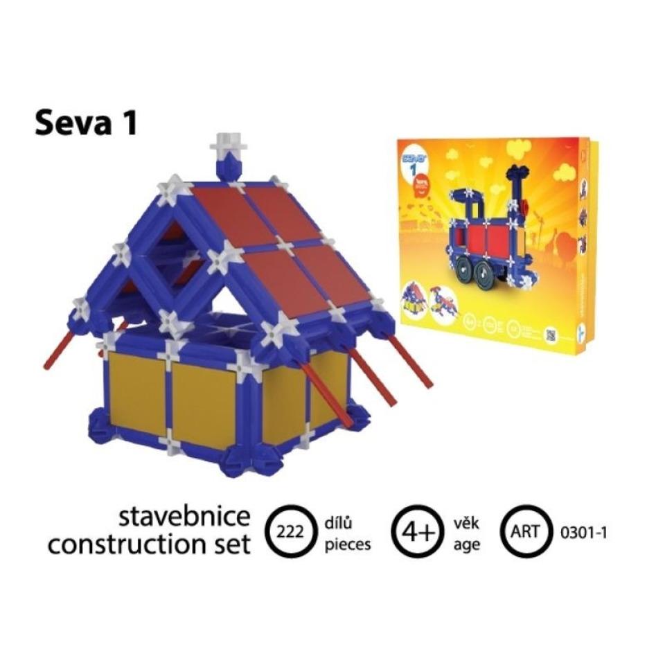 Obrázek 3 produktu SEVA Klasik jednička, 222 dílků