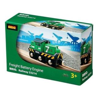 Obrázek 2 produktu BRIO 33214 Elektrická nákladní lokomotiva zelená