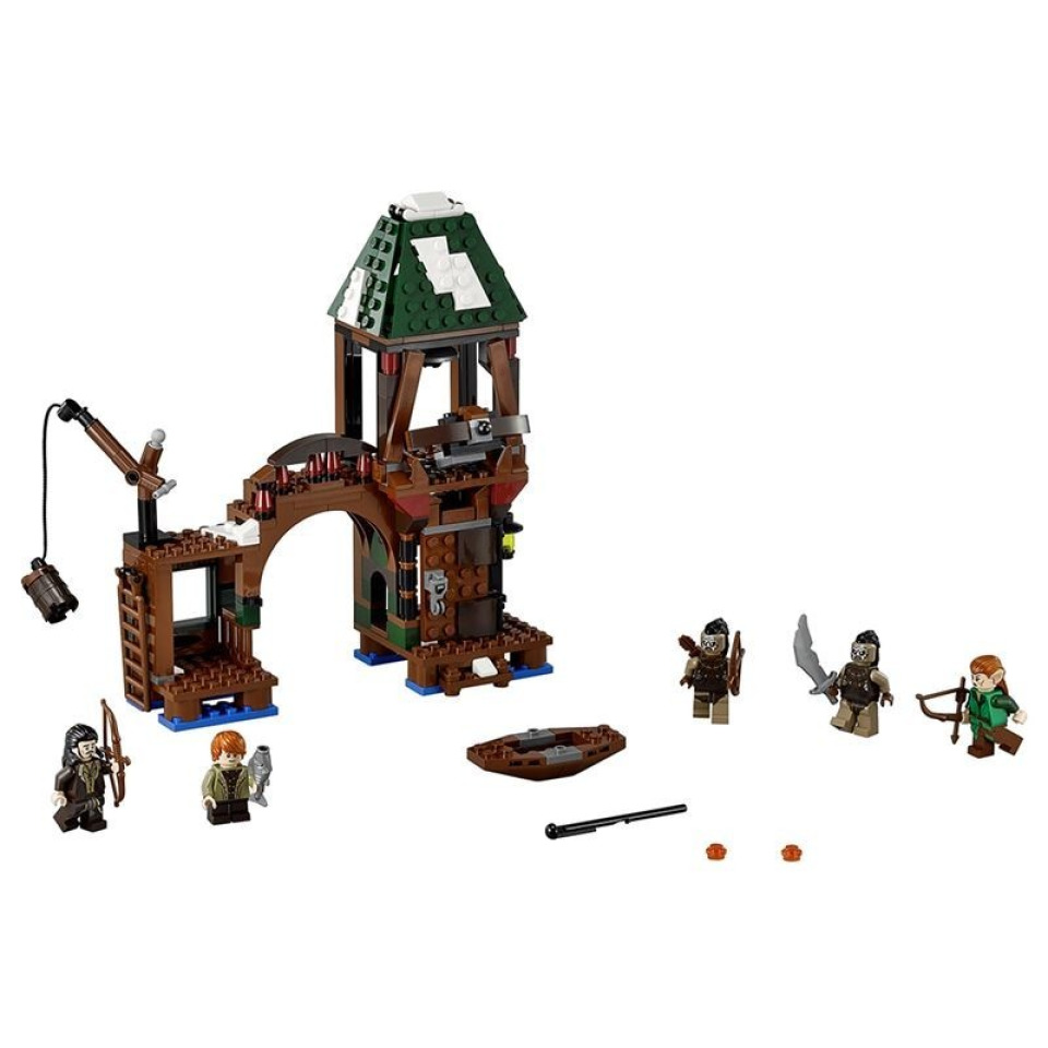 Obrázek 1 produktu LEGO Hobbit 79016 Útok na Jezerní město