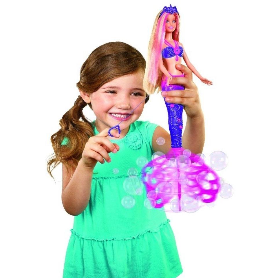 Obrázek 1 produktu Barbie Bublinková mořská panna, Mattel CFF49