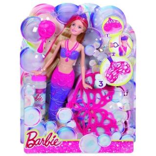 Obrázek 5 produktu Barbie Bublinková mořská panna, Mattel CFF49