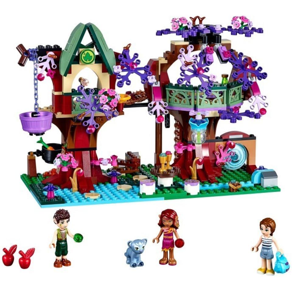 Obrázek 1 produktu LEGO Elves 41075 Elfský úkryt v koruně stromu