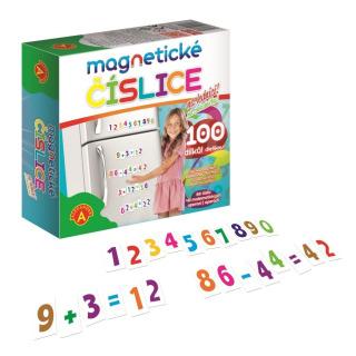 Obrázek 2 produktu Magnetické číslice na lednici 100 dílků