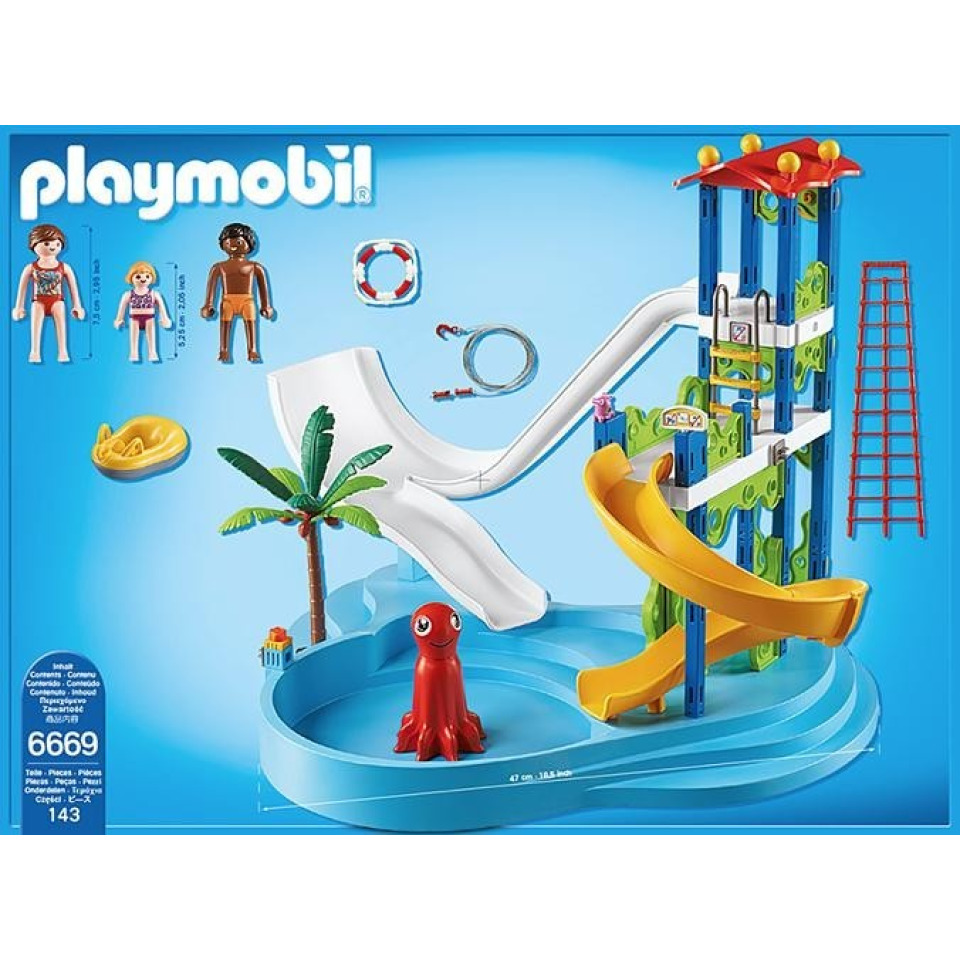 Obrázek 1 produktu Playmobil 6669 Aquapark s tobogánem
