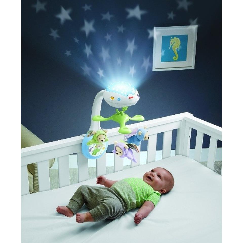 Obrázek 2 produktu Fisher Price Kolotoč nad postýlku Motýlci, Mattel CDN41