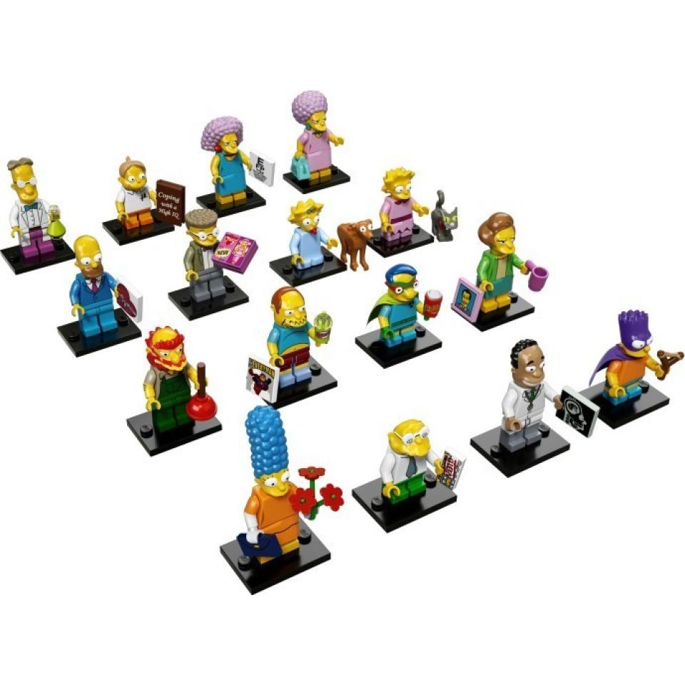 Obrázek 1 produktu LEGO 71009 Kolekce 16 minifigurek série The Simpsons 2