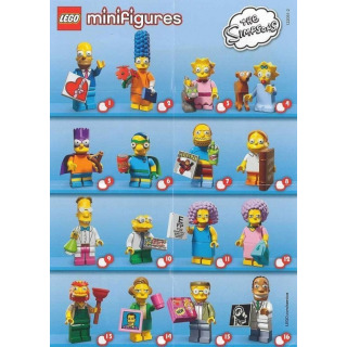 Obrázek 3 produktu LEGO 71009 Kolekce 16 minifigurek série The Simpsons 2