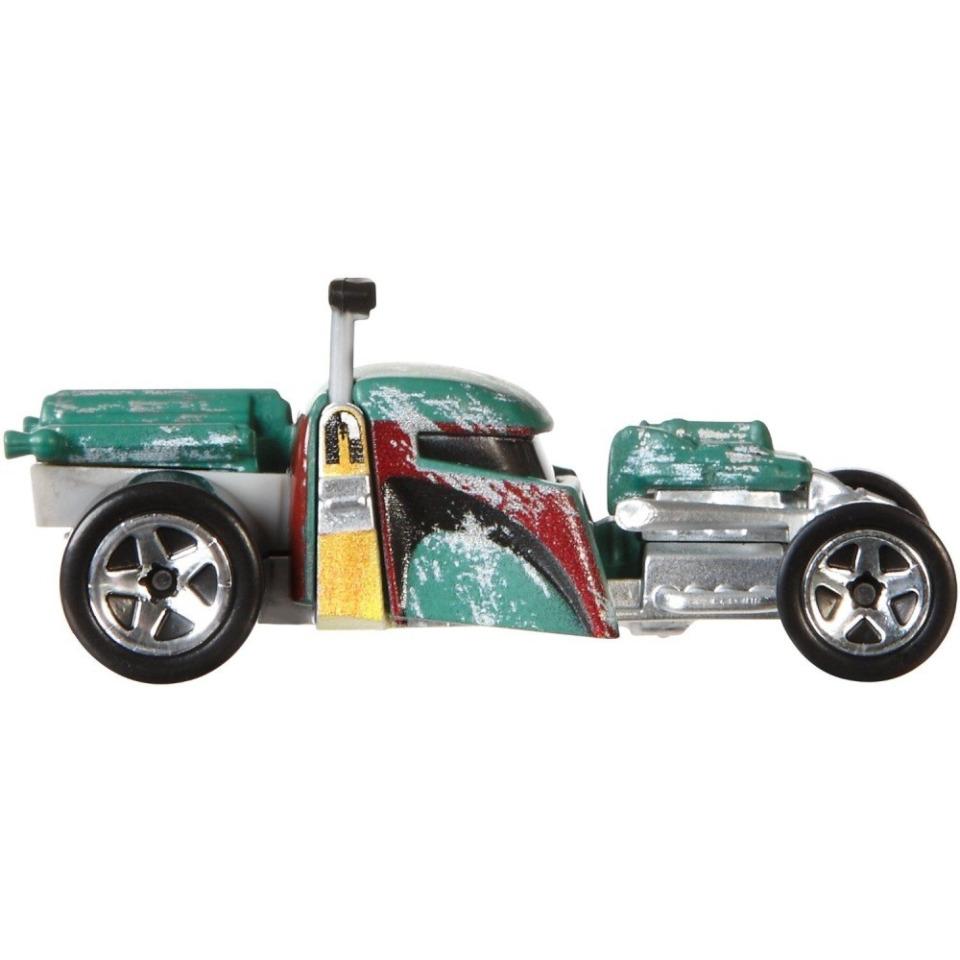 Obrázek 1 produktu Hot Wheels SW autíčko Boba Fett, Mattel CGW42