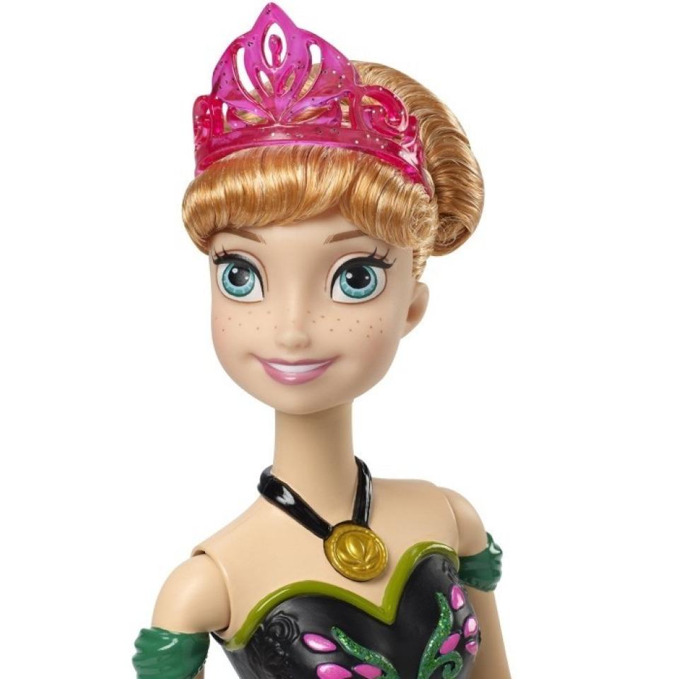 Obrázek 1 produktu Ledové Království Zpívající Anna AJ, Mattel CJJ08