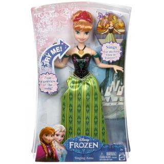 Obrázek 4 produktu Ledové Království Zpívající Anna AJ, Mattel CJJ08