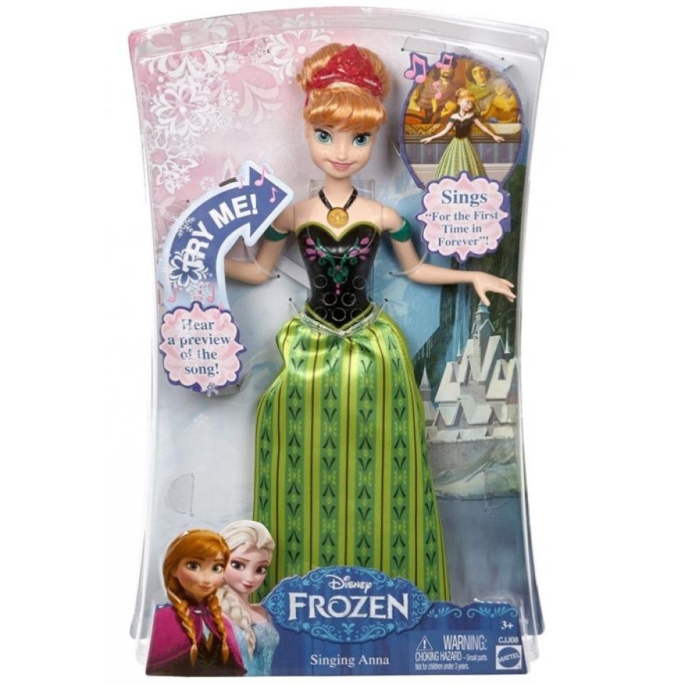 Obrázek 3 produktu Ledové Království Zpívající Anna AJ, Mattel CJJ08