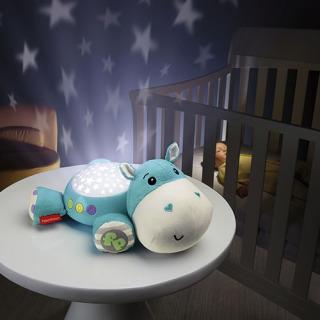 Obrázek 2 produktu Fisher Price Plyšový hrošík projektor na zeď, Mattel CGN86