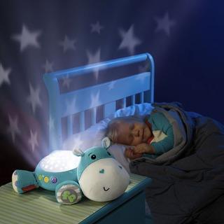 Obrázek 3 produktu Fisher Price Plyšový hrošík projektor na zeď, Mattel CGN86