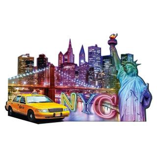 Obrázek 2 produktu Ravensburger 16153 Puzzle Skyline, New York - tvarové 1158 dílků