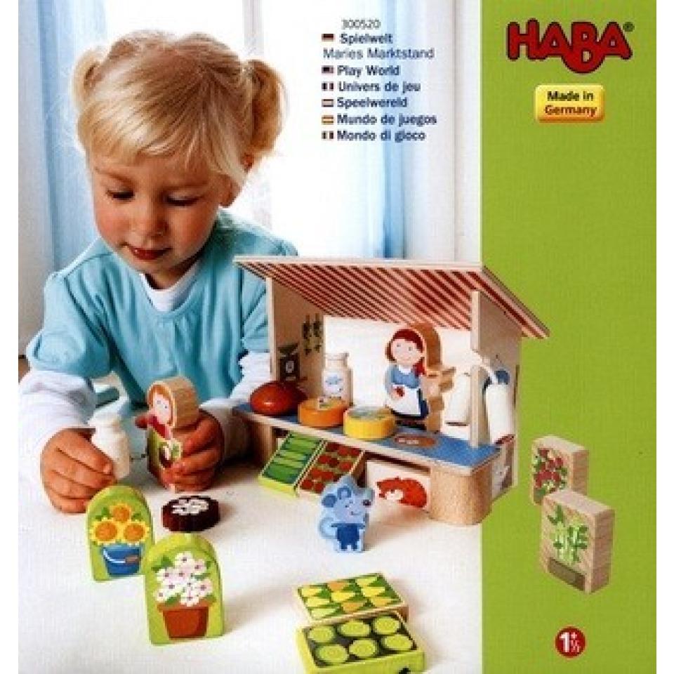 Obrázek 1 produktu Dřevěný stánek s potravinami