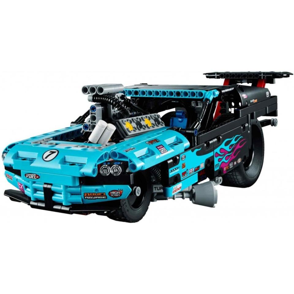 Obrázek 1 produktu LEGO TECHNIC 42050 Dragster