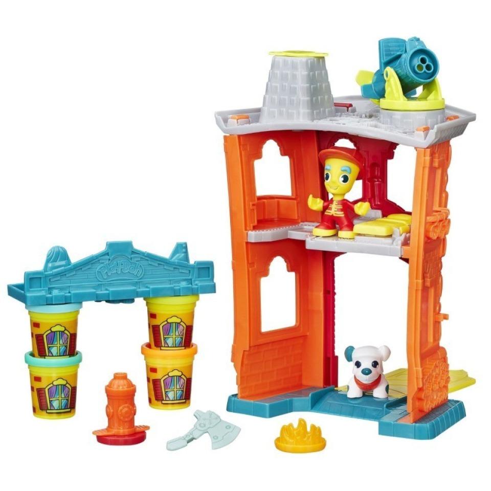 Obrázek 1 produktu Play Doh Town požární stanice