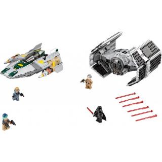 Obrázek 2 produktu LEGO Star Wars 75150 Vader's TIE Advanced vs. A-Wing Starfighter