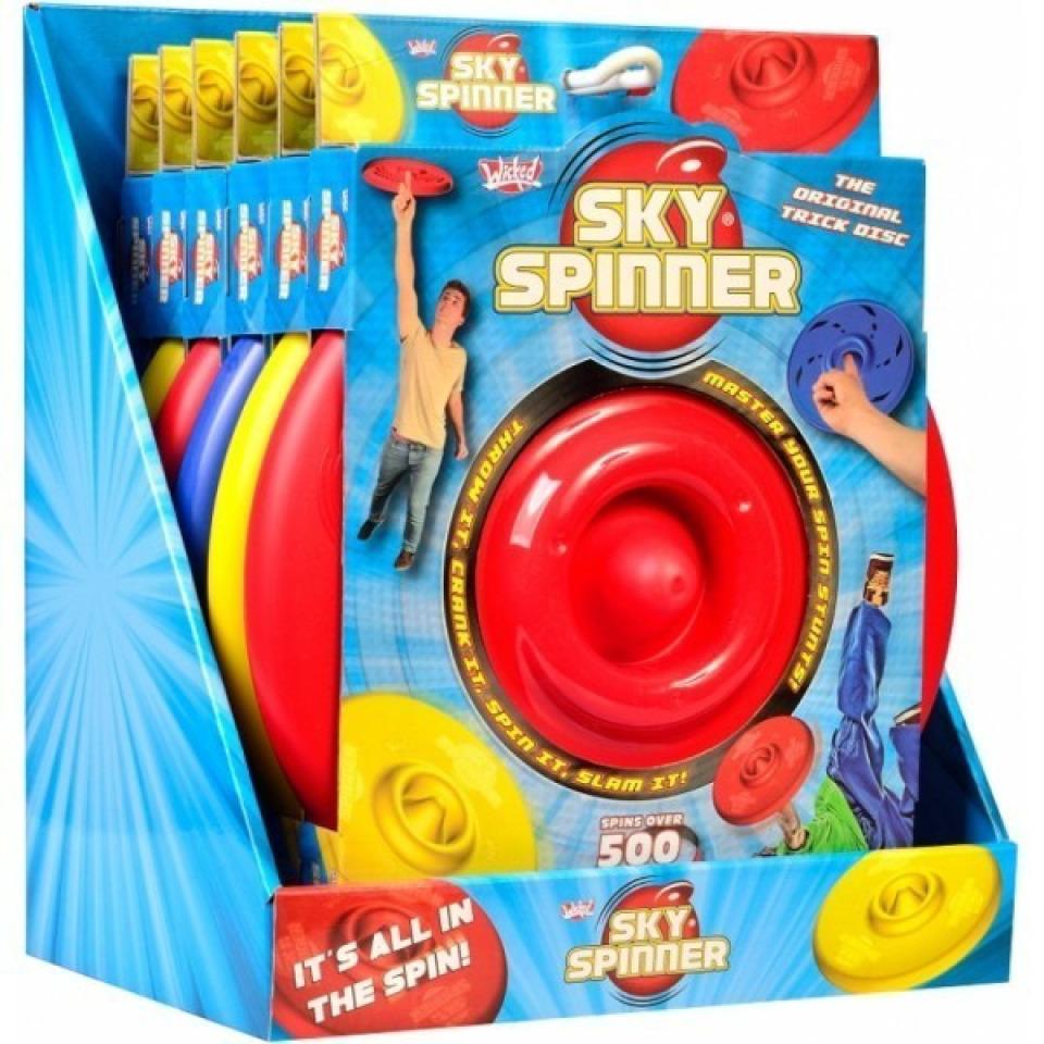 Obrázek 1 produktu WICKED  Sky Spinner žlutý
