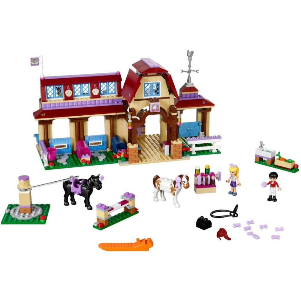 Obrázek 1 produktu LEGO FRIENDS 41126 Jezdecký klub v Heartlake