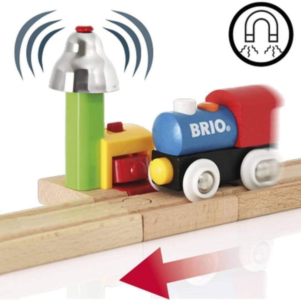 Obrázek 2 produktu BRIO 33707 Magnetická zvuková signalizace k vláčkodráze