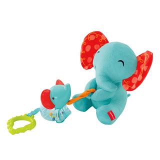 Obrázek 2 produktu Aktivní Plyšový slon se slůnětem 3 v1, Fisher Price CDN53