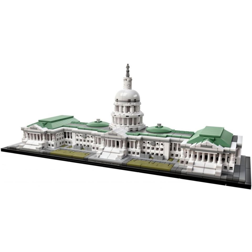 Obrázek 1 produktu LEGO Architecture 21030 Kapitol Spojených států amerických