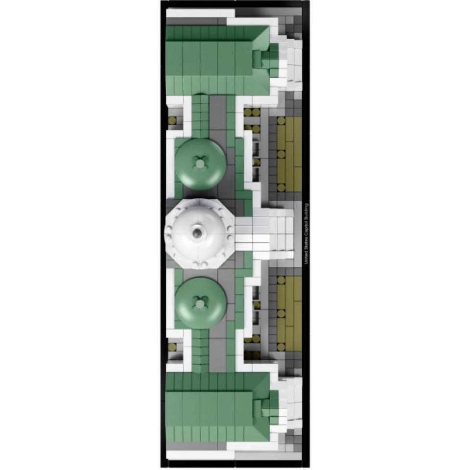 Obrázek 4 produktu LEGO Architecture 21030 Kapitol Spojených států amerických