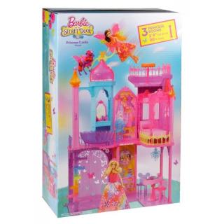 Obrázek 5 produktu Barbie Kouzelná dvířka Velký princeznin zámek, Mattel BLP42