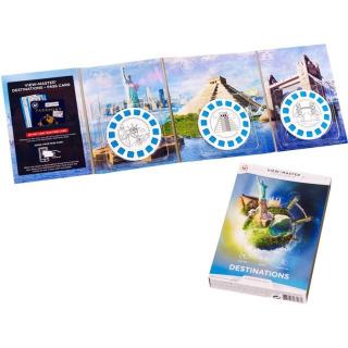 Obrázek 2 produktu View Master zážitkový balíček: ZAJÍMAVÁ MÍSTA, Mattel DLL69