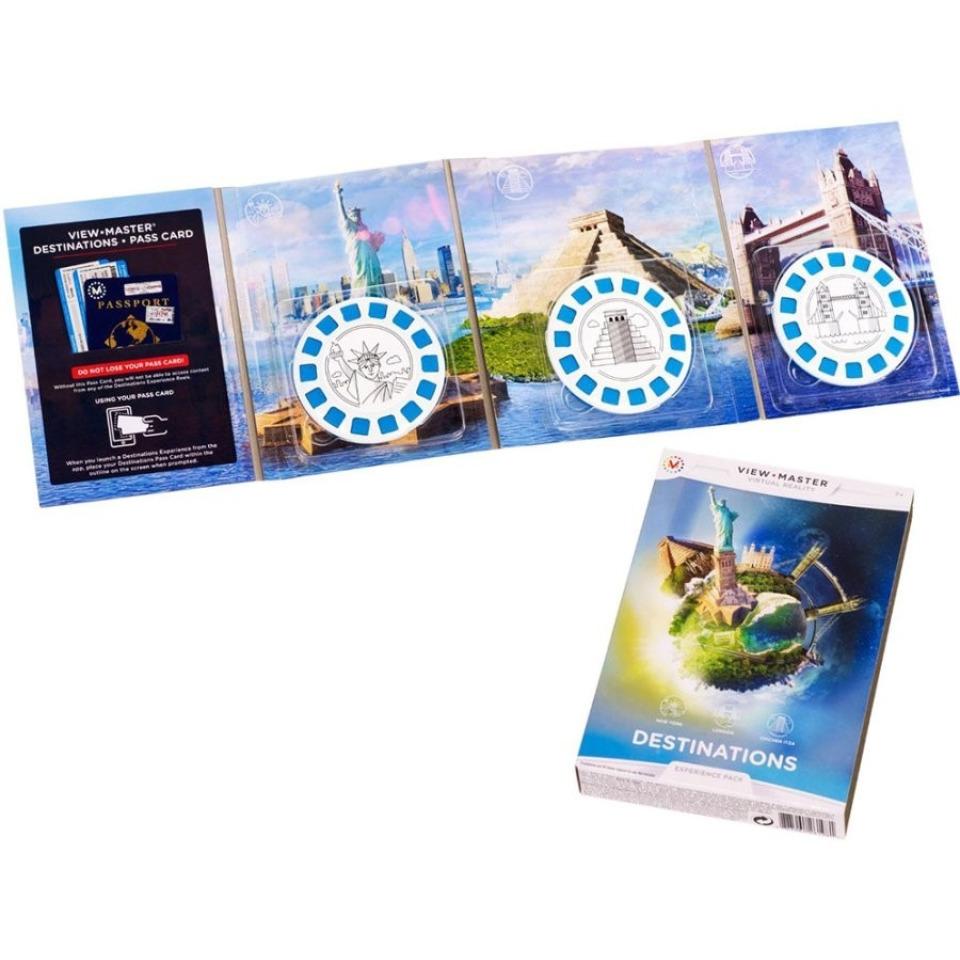 Obrázek 1 produktu View Master zážitkový balíček: ZAJÍMAVÁ MÍSTA, Mattel DLL69