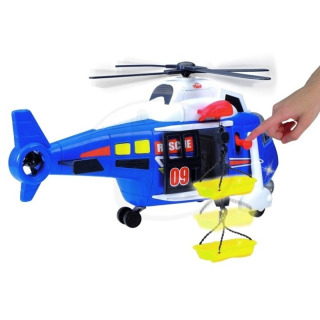 Obrázek 4 produktu Záchranářský vrtulník 41 cm světlo zvuk, Dickie