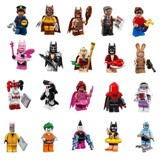 Obrázek 2 produktu LEGO 71017 kolekce 20 minifigurek série Batman