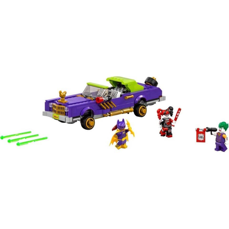 Obrázek 1 produktu LEGO Batman Movie 70906 Joker a jeho vůz Notorious Lowrider