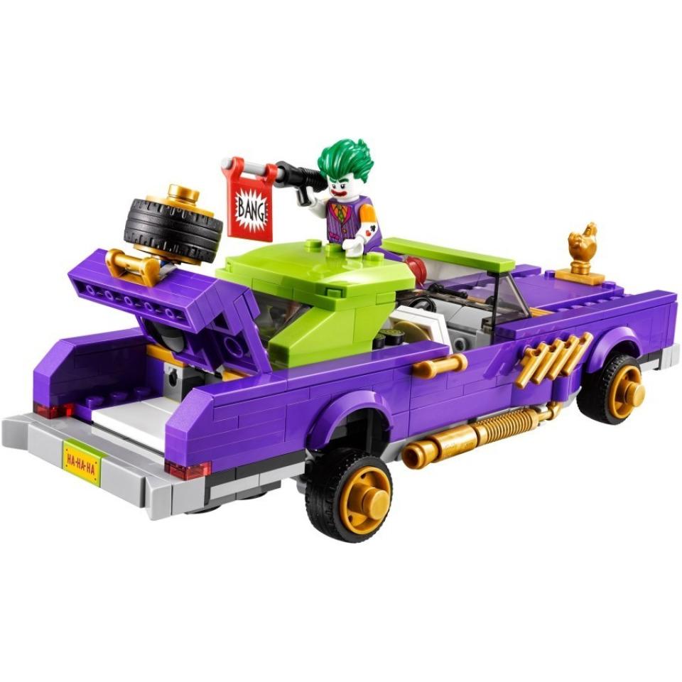 Obrázek 2 produktu LEGO Batman Movie 70906 Joker a jeho vůz Notorious Lowrider