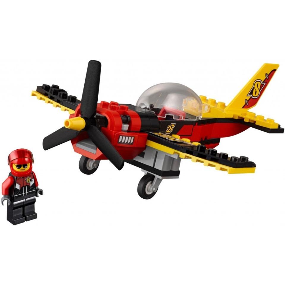 Obrázek 1 produktu LEGO CITY 60144 Závodní letadlo