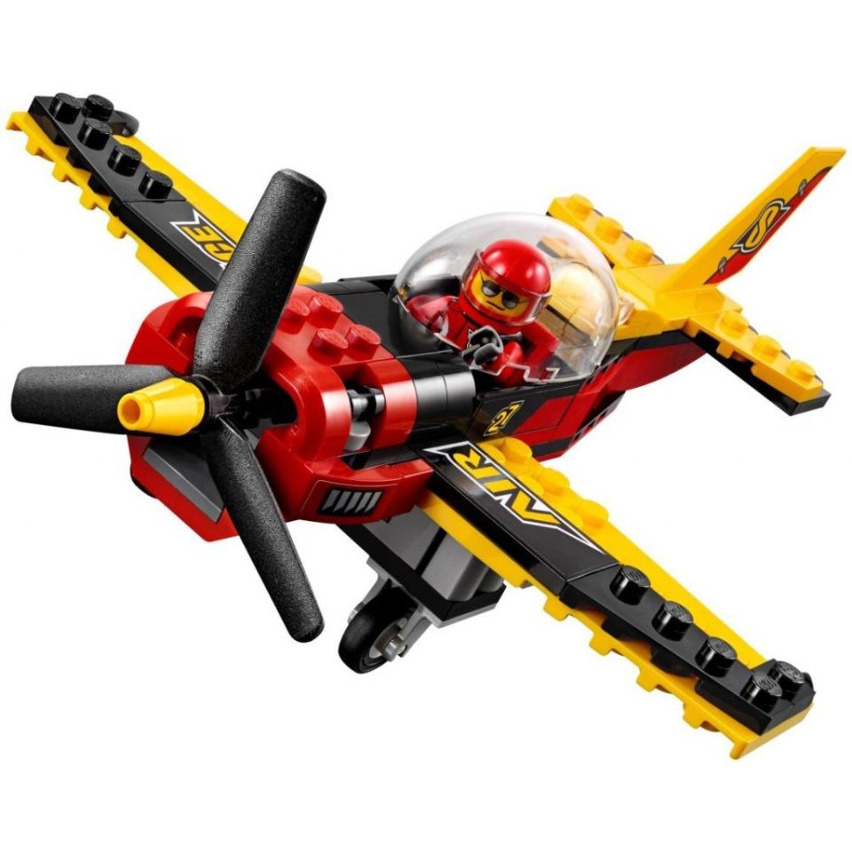 Obrázek 2 produktu LEGO CITY 60144 Závodní letadlo