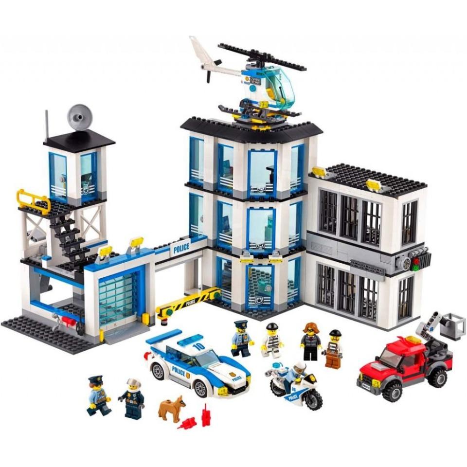 Obrázek 1 produktu LEGO CITY 60141 Policejní stanice