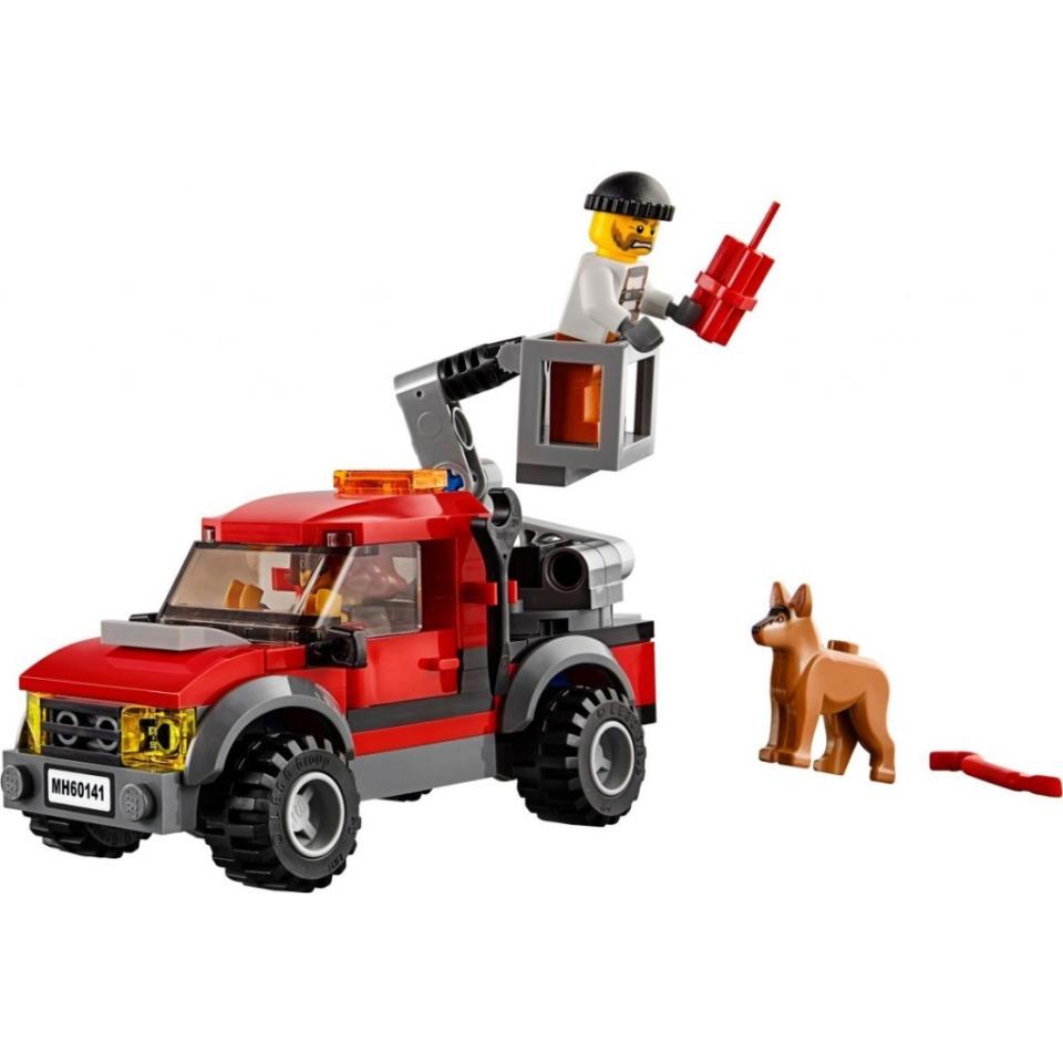Obrázek 2 produktu LEGO CITY 60141 Policejní stanice
