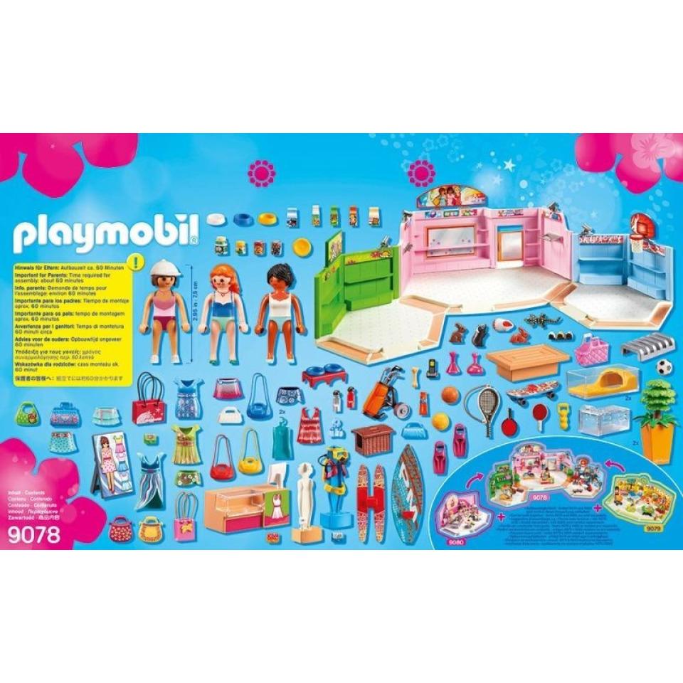 Obrázek 1 produktu Playmobil 9078 Nákupní centrum
