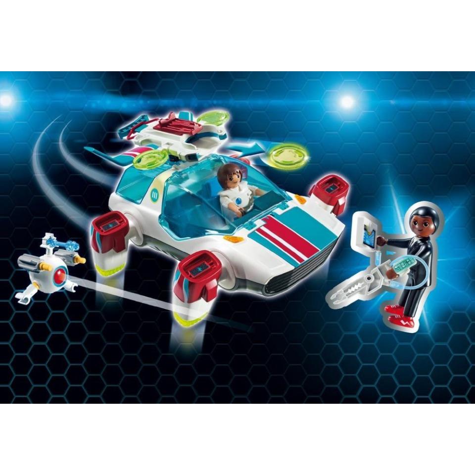 Obrázek 1 produktu Playmobil 9002 FulguriX s agentem Genem