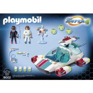 Obrázek 4 produktu Playmobil 9002 FulguriX s agentem Genem