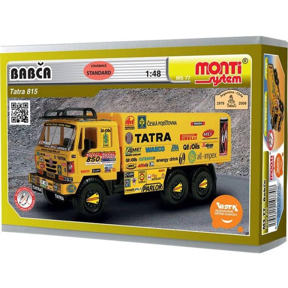 Obrázek 1 produktu Monti 77 Babča Tatra 815 1:48