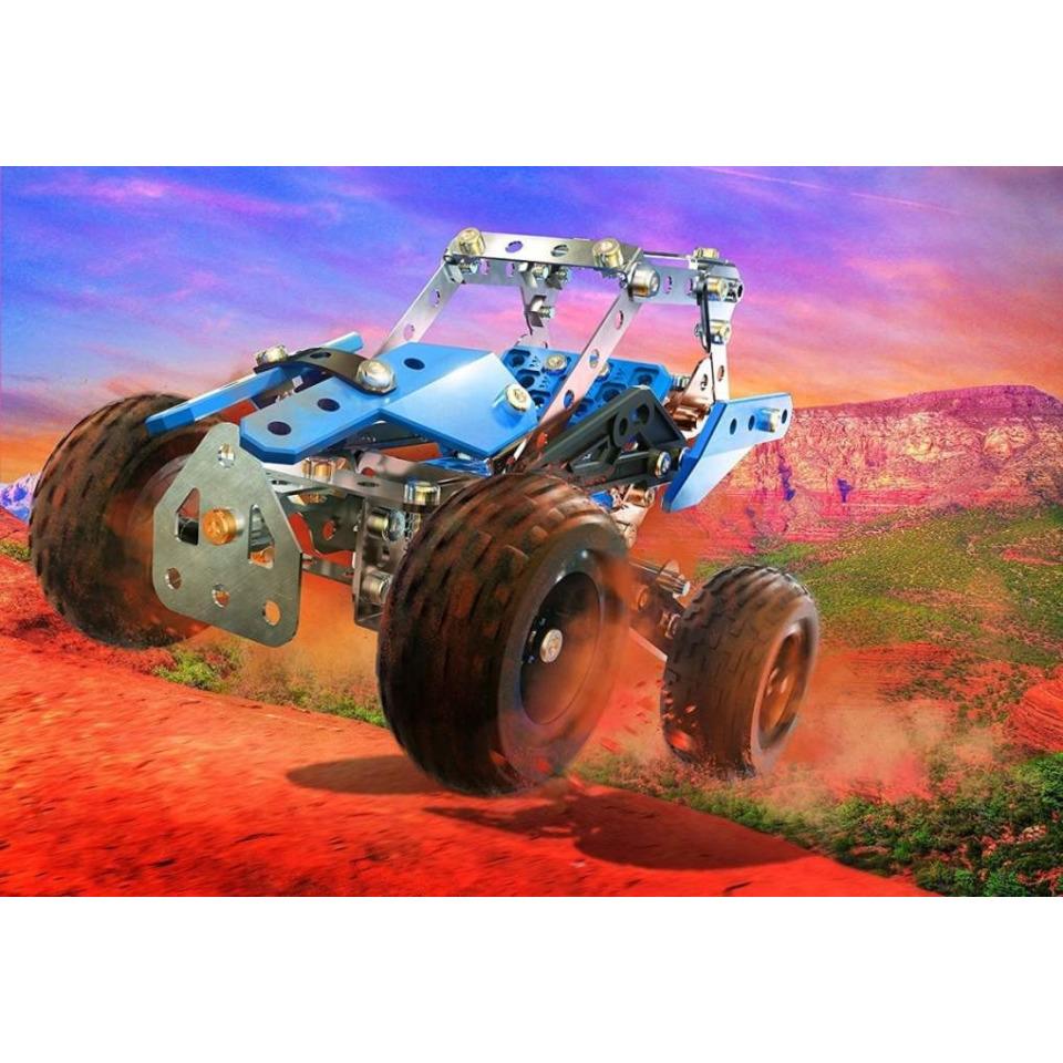 Obrázek 1 produktu MECCANO 16210 Stavebnice 15v1 teréňáky a  motorky