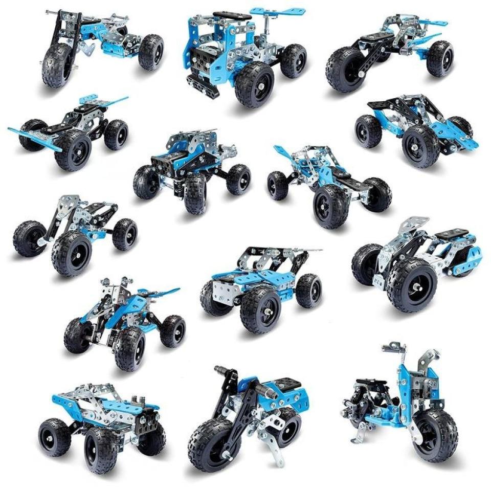 Obrázek 3 produktu MECCANO 16210 Stavebnice 15v1 teréňáky a  motorky