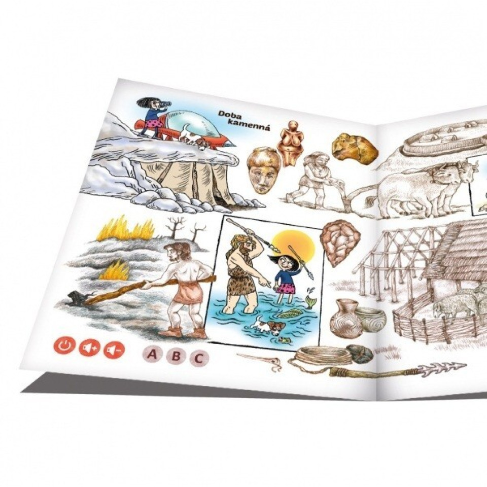 Obrázek 1 produktu Albi Kouzelné čtení Hravé české dějiny 1