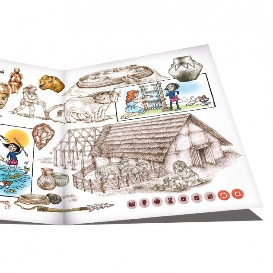 Obrázek 2 produktu Albi Kouzelné čtení Hravé české dějiny 1