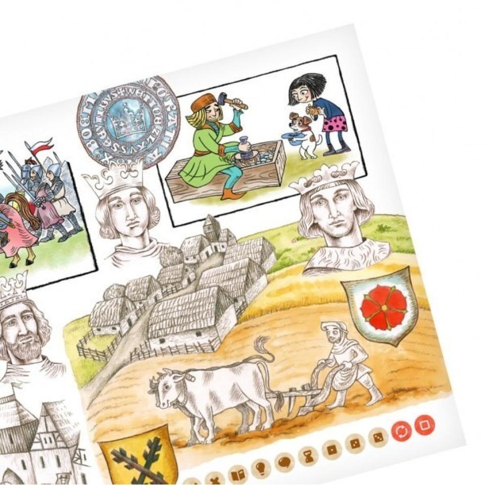 Obrázek 3 produktu Albi Kouzelné čtení Hravé české dějiny 1